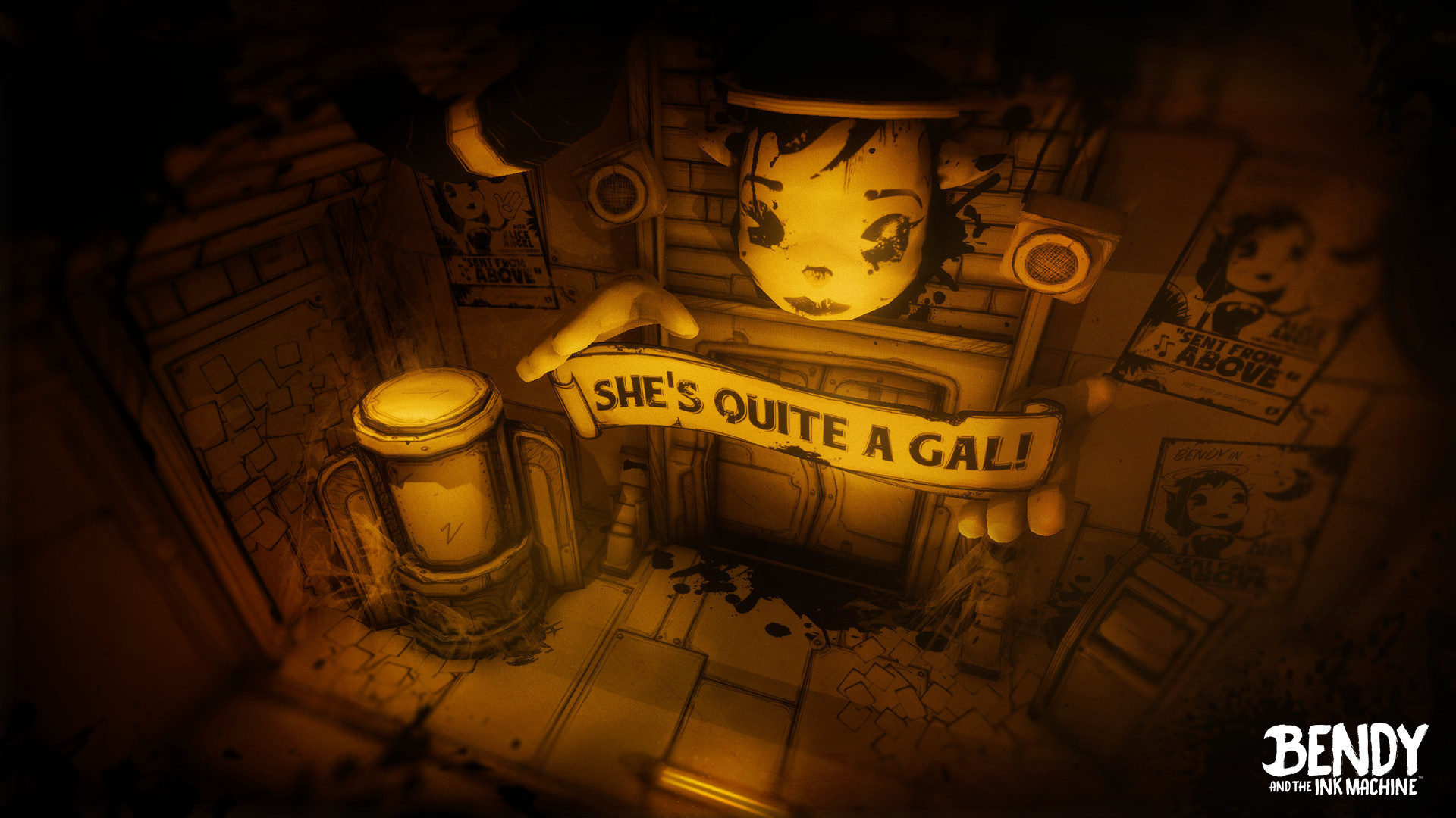 Bendy And The Ink Machine Chapter 3 2017 Promotional Art