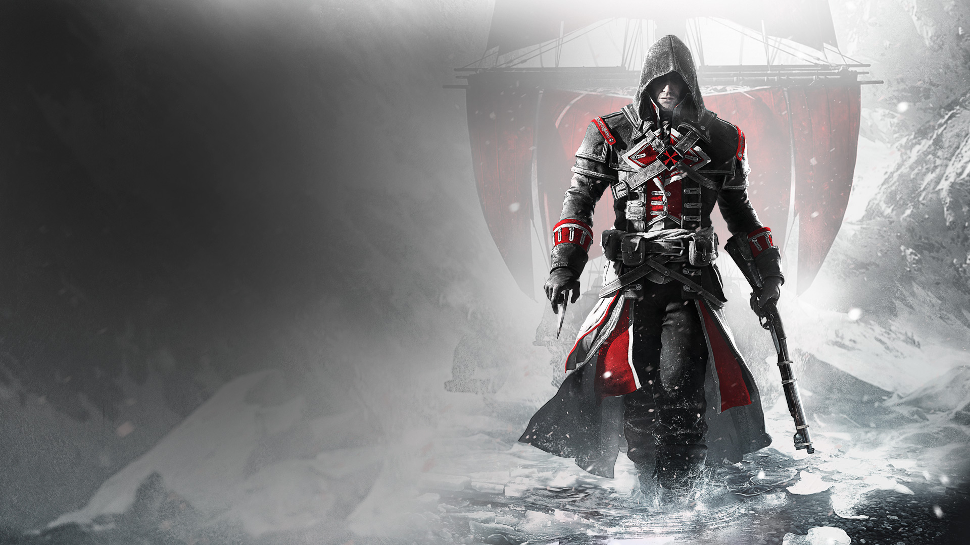 Assassin S Creed Rogue Remastered 2018 Promotional Art