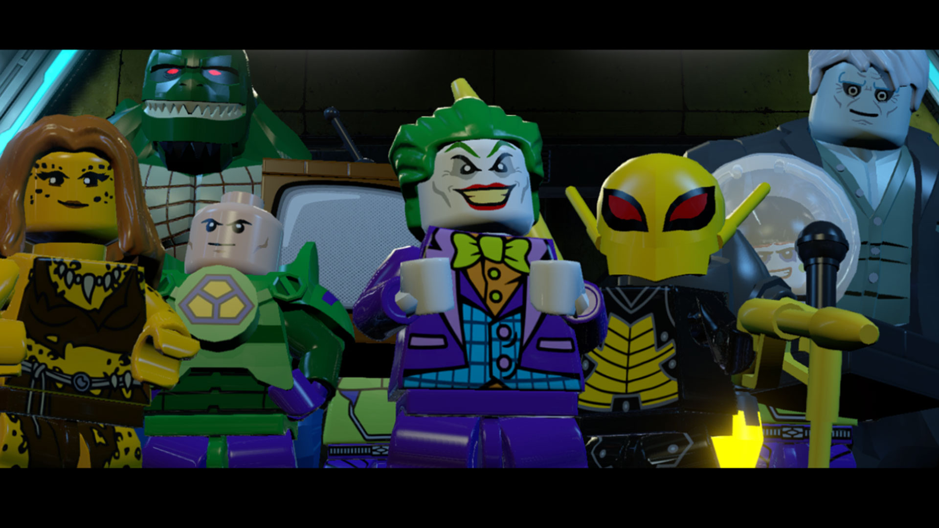 lego batman 3: beyond gotham - arrow pack (2015) promotional art