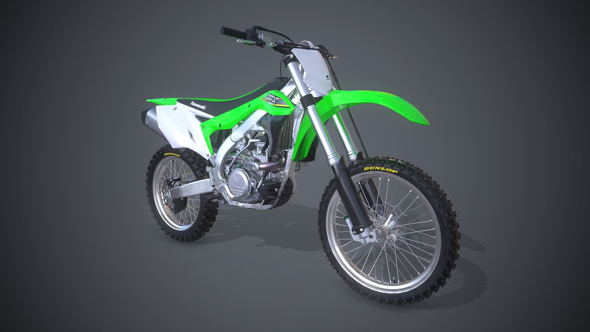 Mx Vs Atv All Out 2017 Kawasaki Kx 450f 2018 Promotional Art