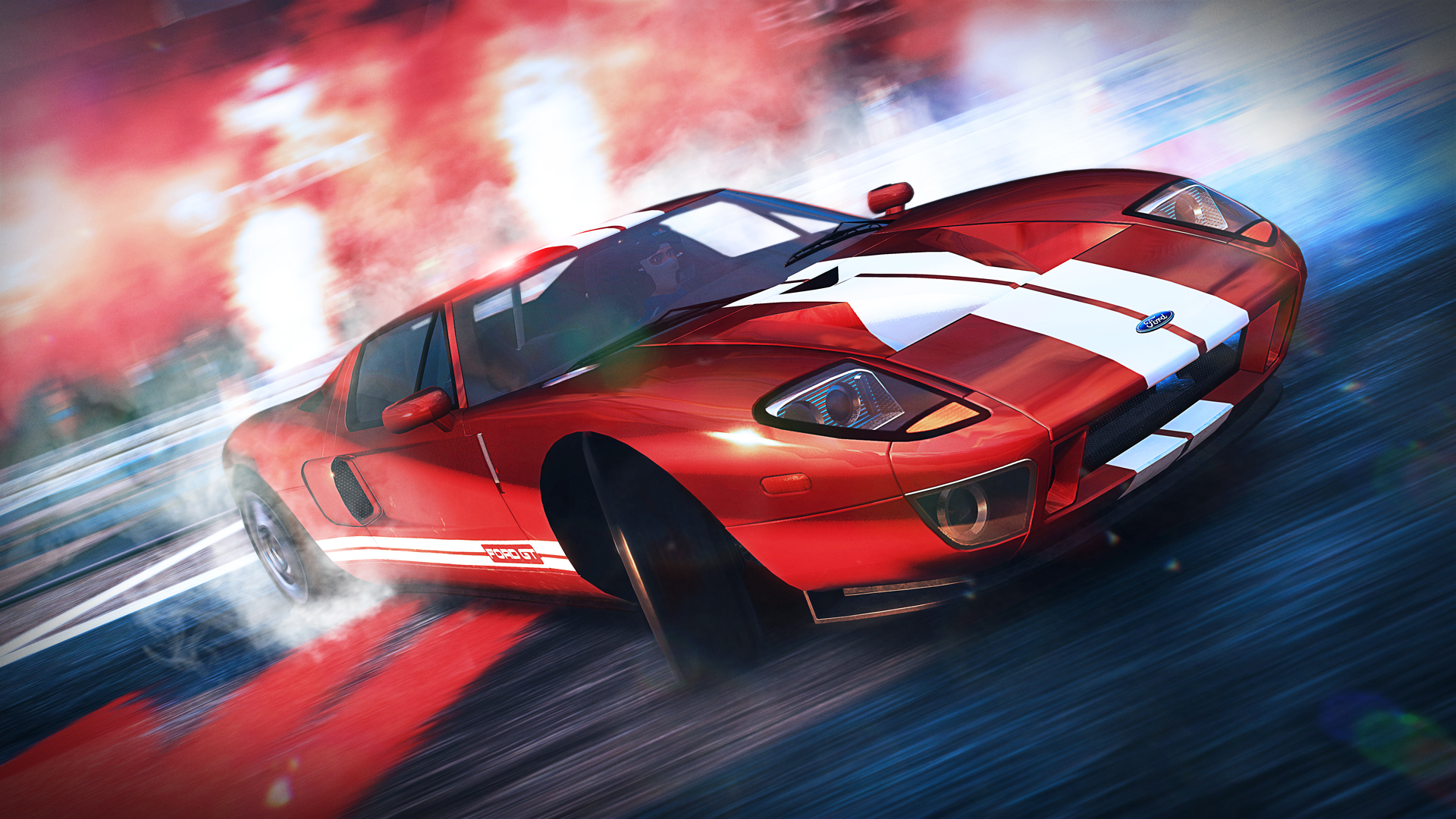V Rally 4 Ford Gt 2006 2018 Promotional Art Mobygames