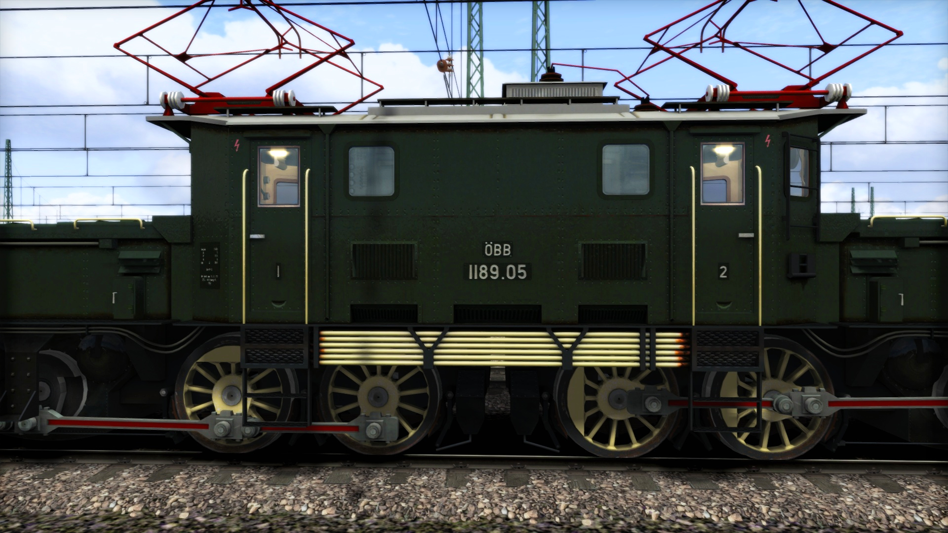 Train Simulator: Marketplace - ÖBB 1189 'Krokodil' Loco Screenshot