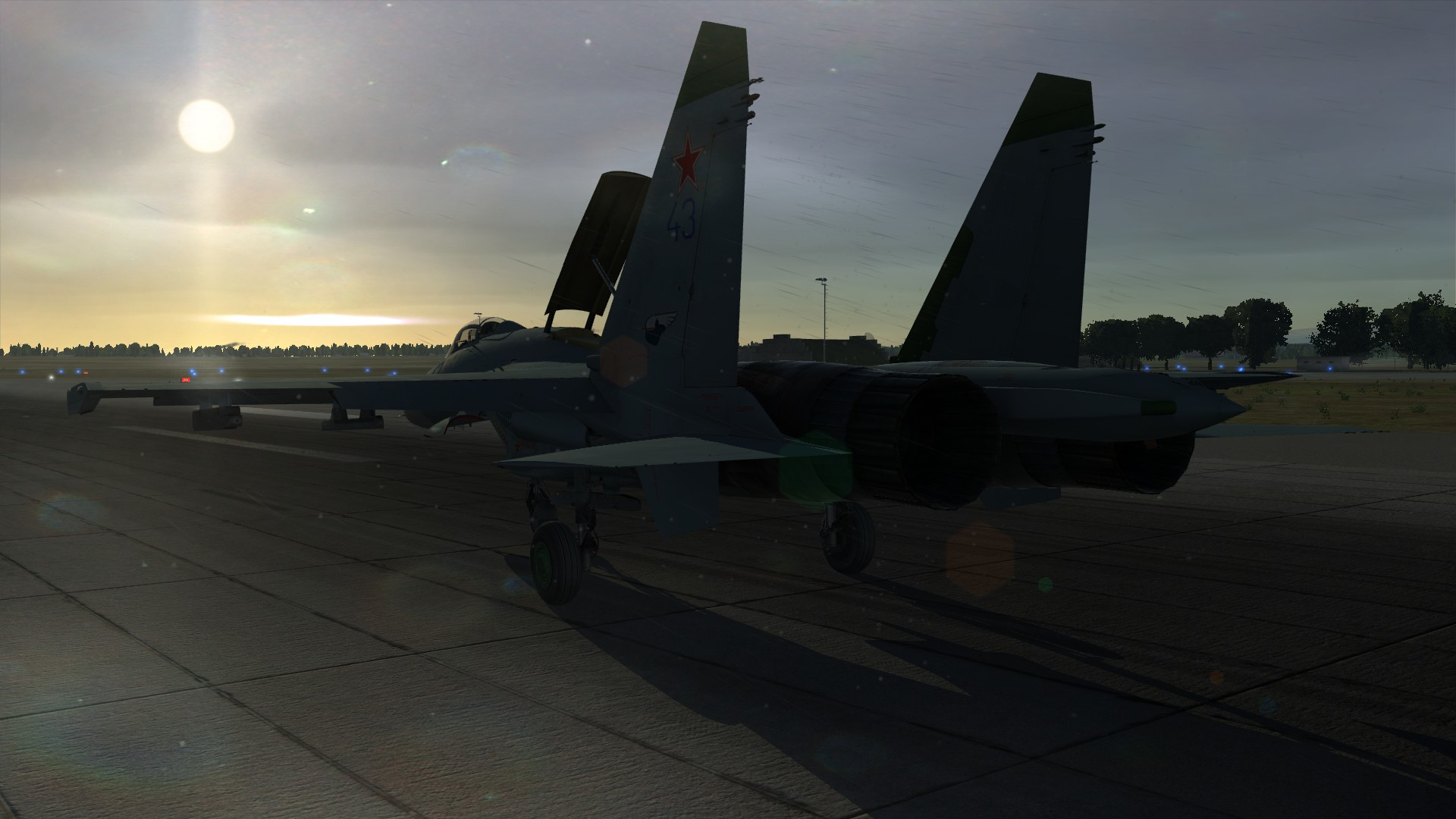 DCS World: Su-27 Flanker (2014) promotional art - MobyGames