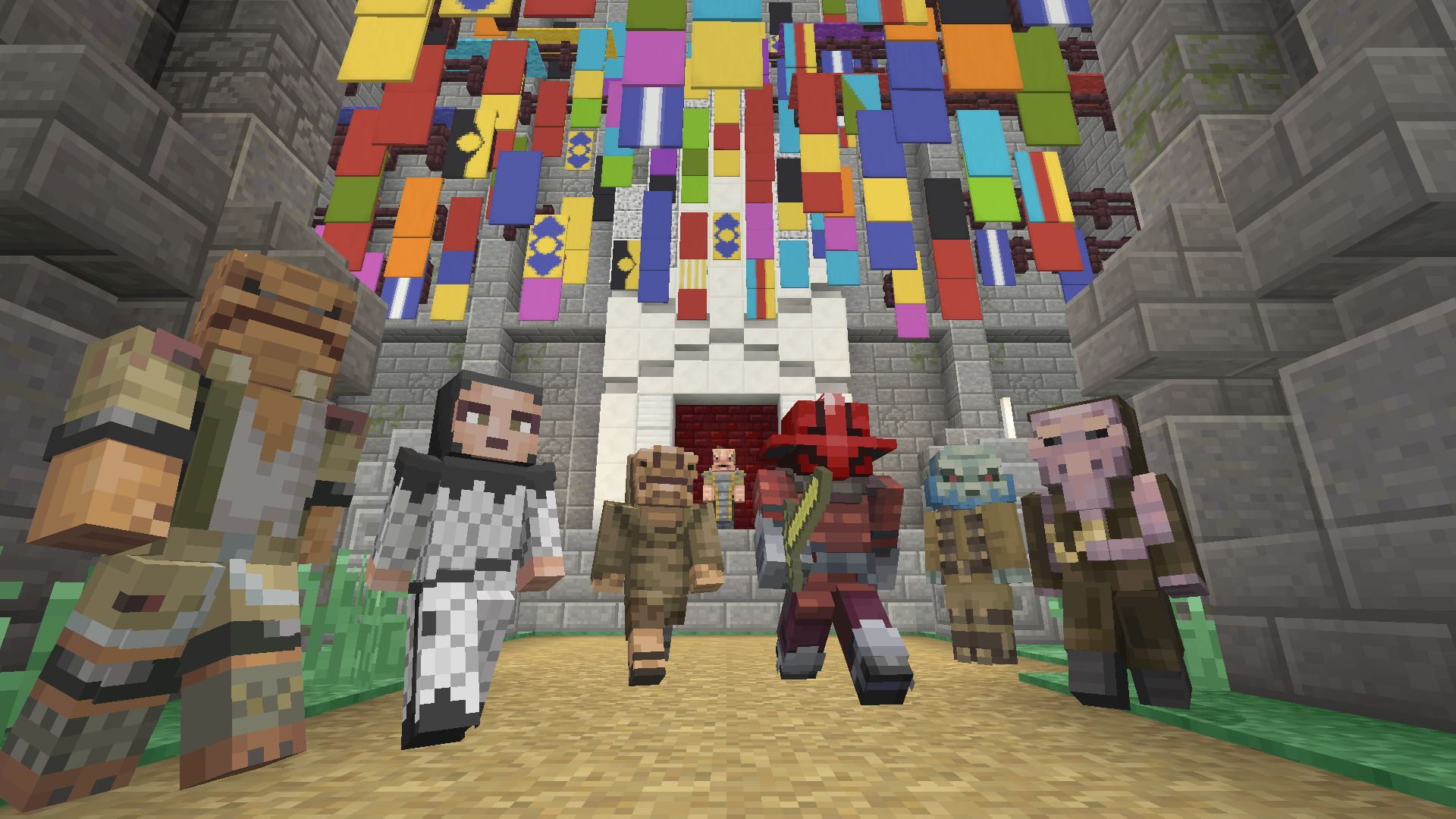 Minecraft Star Wars Sequel Skin Pack Promotional Art MobyGames - Skins para minecraft pc con capa