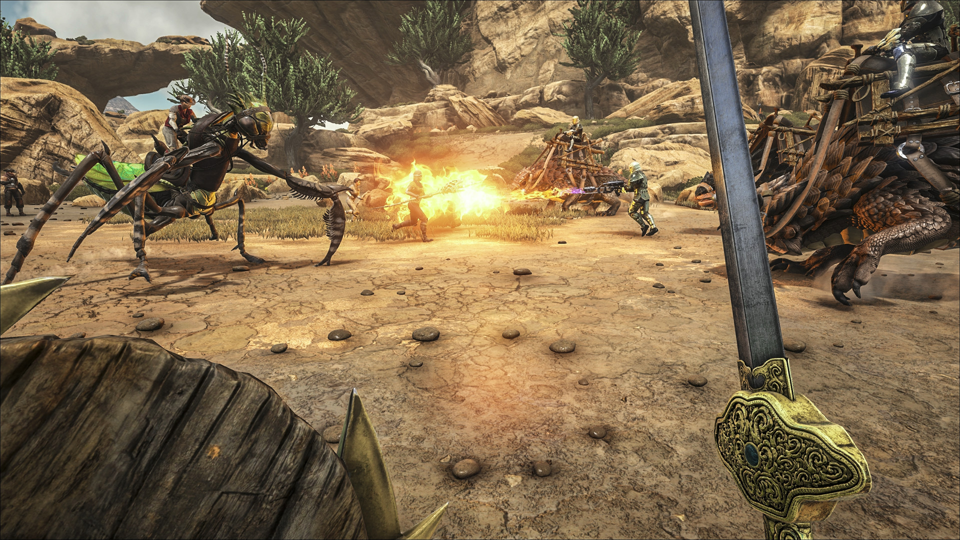 ARK: Survival Evolved   Scorched Earth Screenshot. Official Screenshot From  Steam