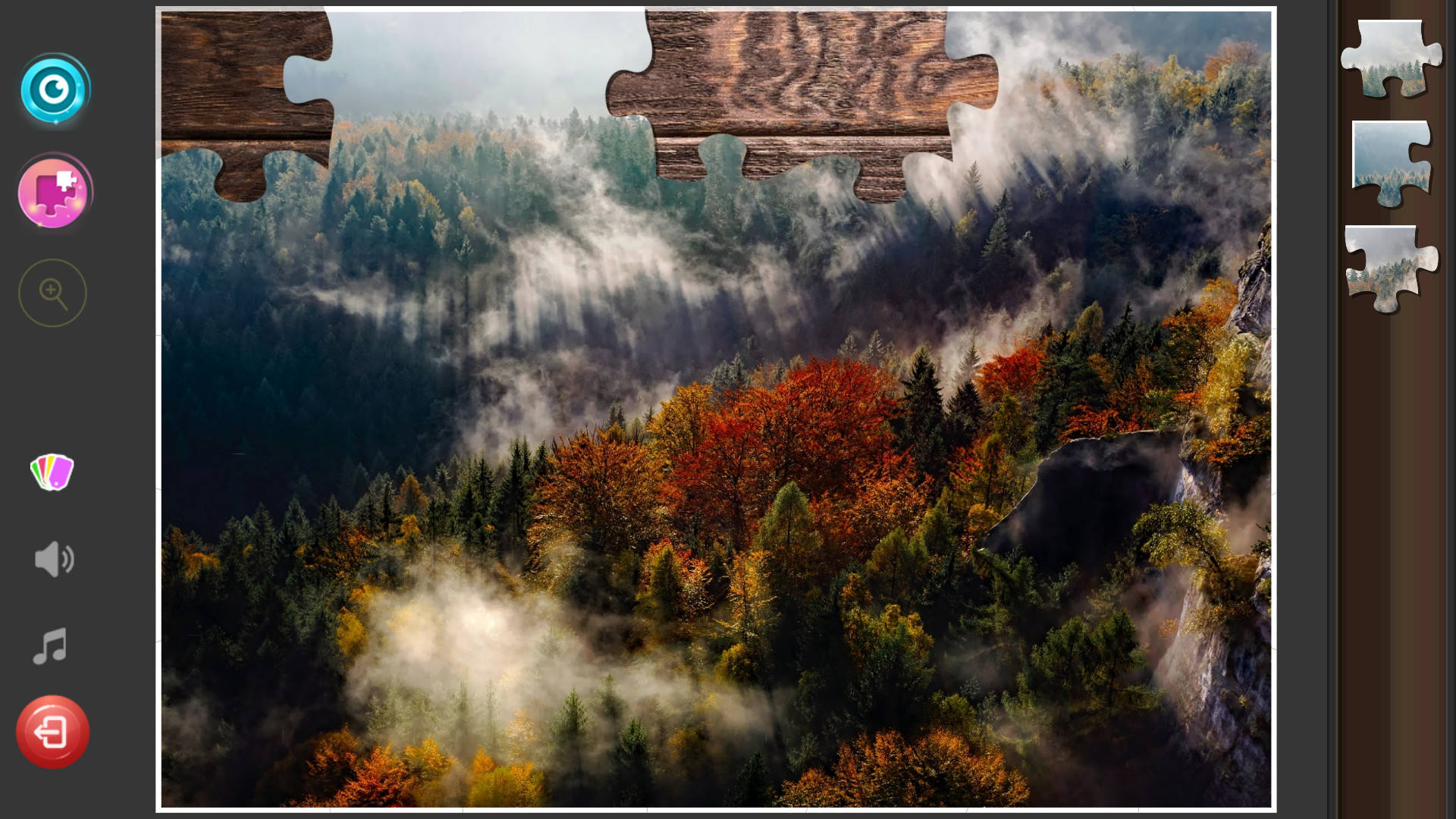 Classic Jigsaw Puzzles: Forest Jigsaw Puzzles (2019