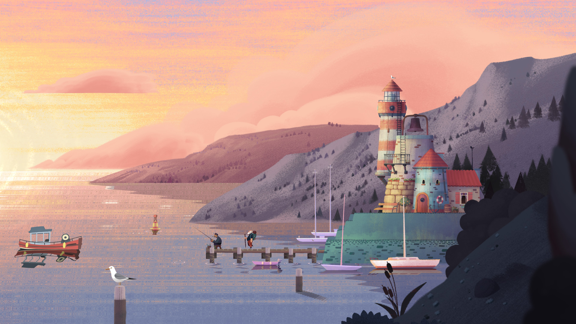 Old Mans Journey Screenshot