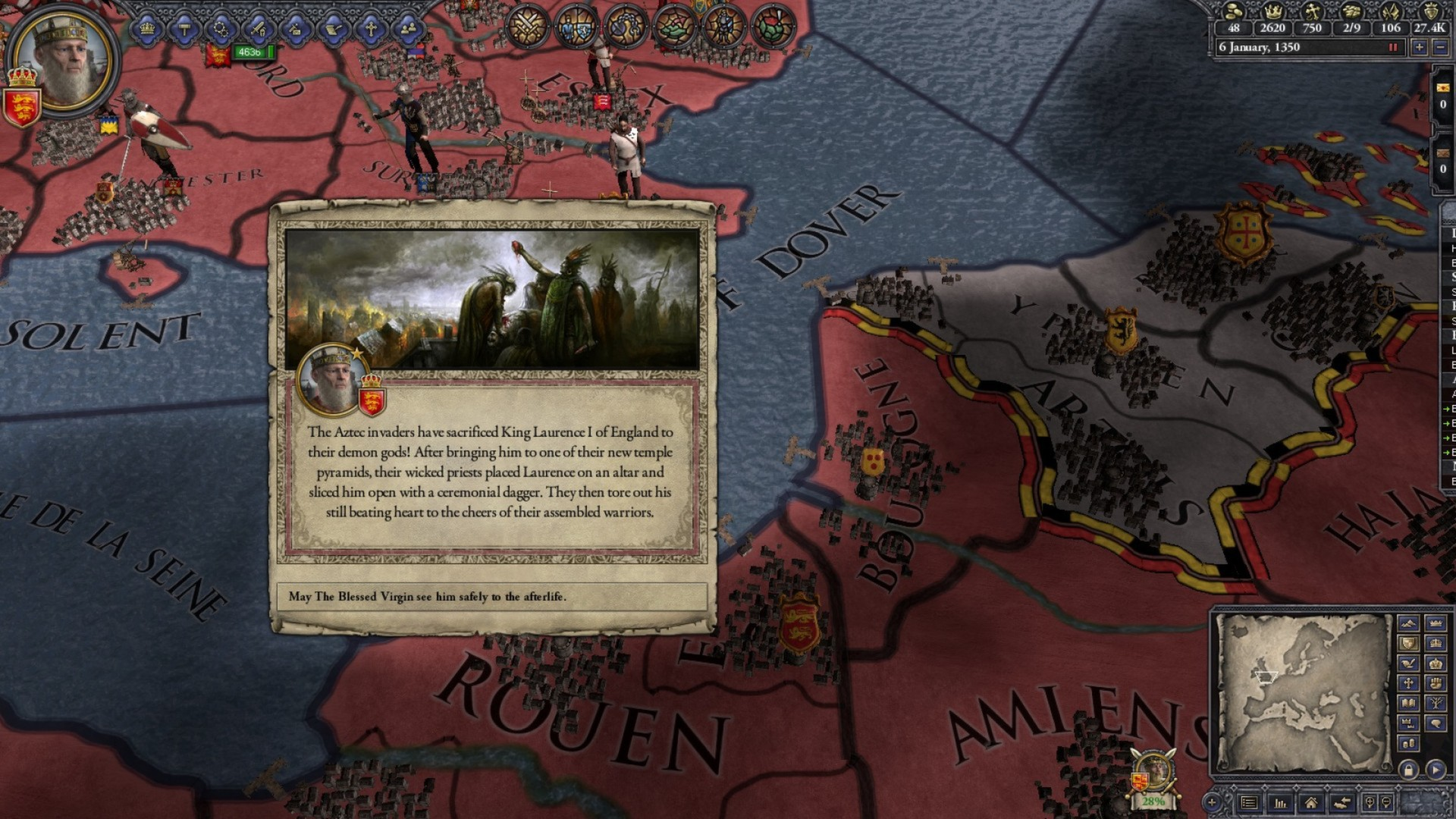 Crusader Kings II: Sunset Invasion Screenshot