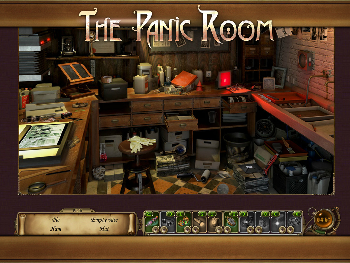 The Panic Room (2016) promotional art - MobyGames