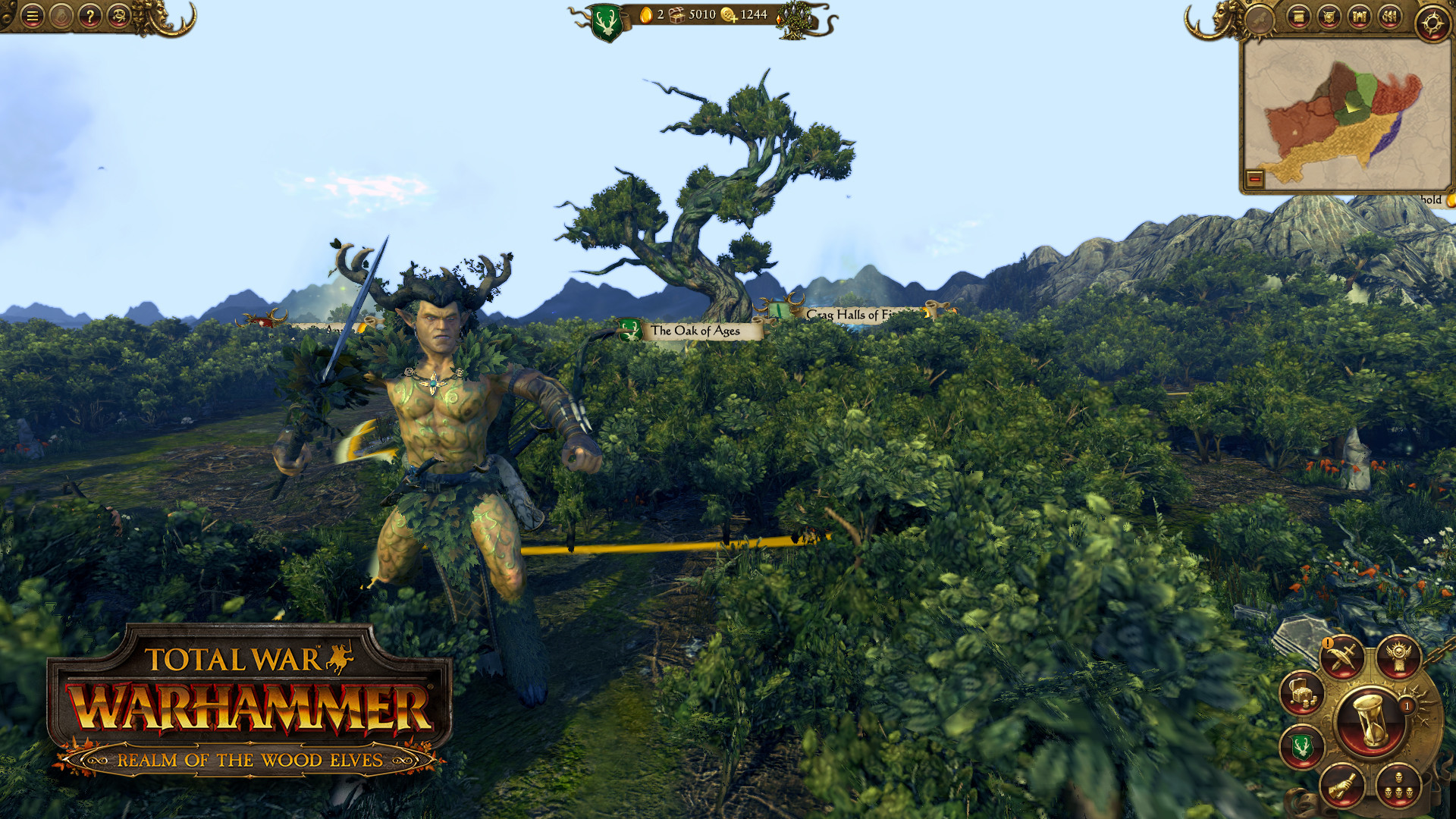Total War: Warhammer - Realm of the Wood Elves Screenshot