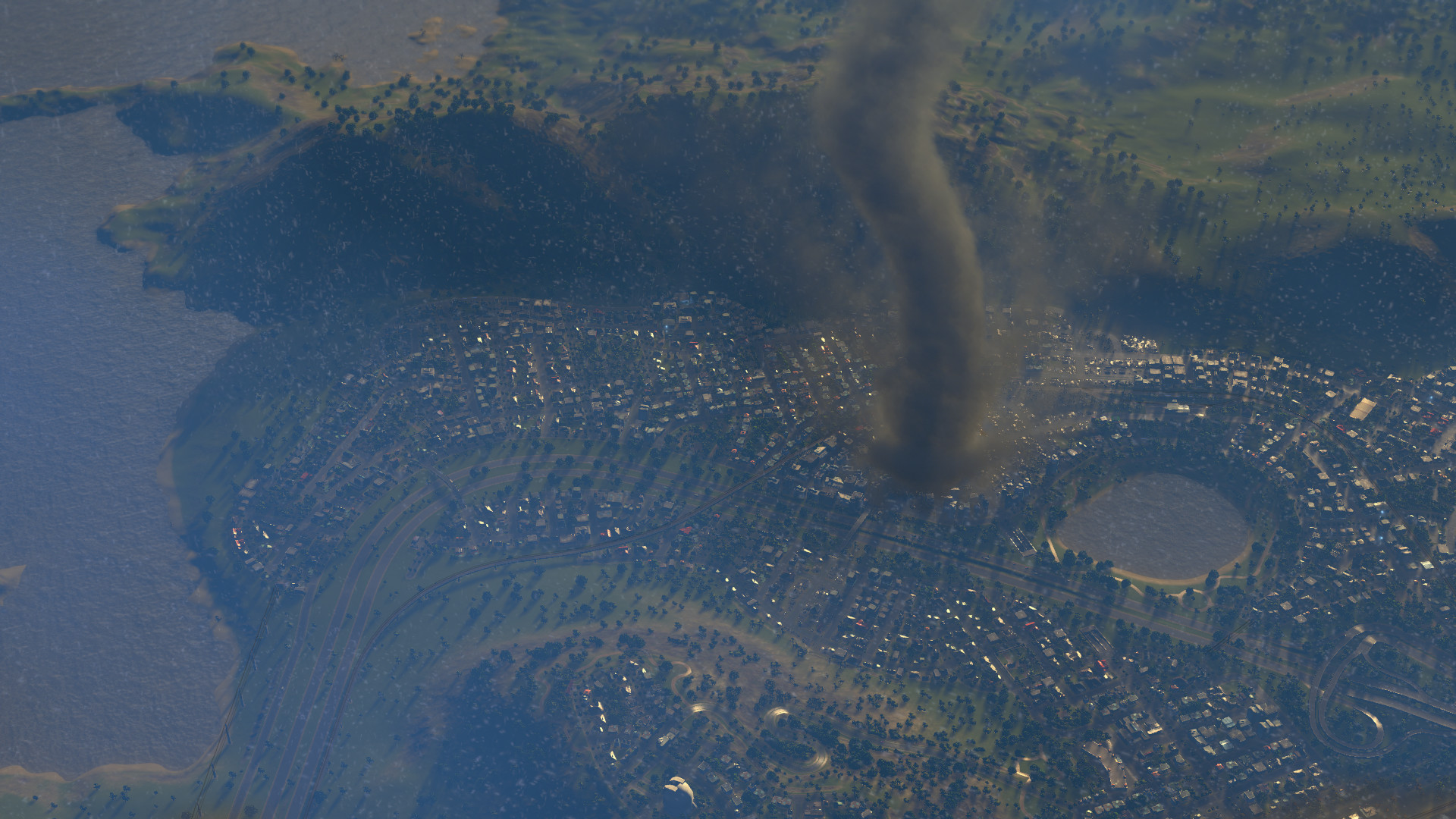 cities skylines natural disasters 2016 promotional art mobygames