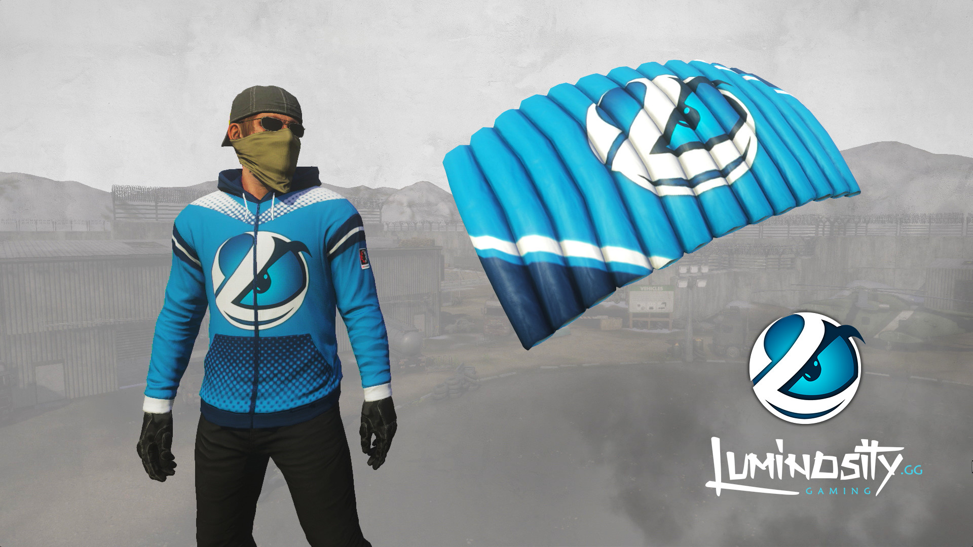 H1Z1  Pro League - Luminosity Gaming Team Pack (2018) promotional ... 169c94dcc