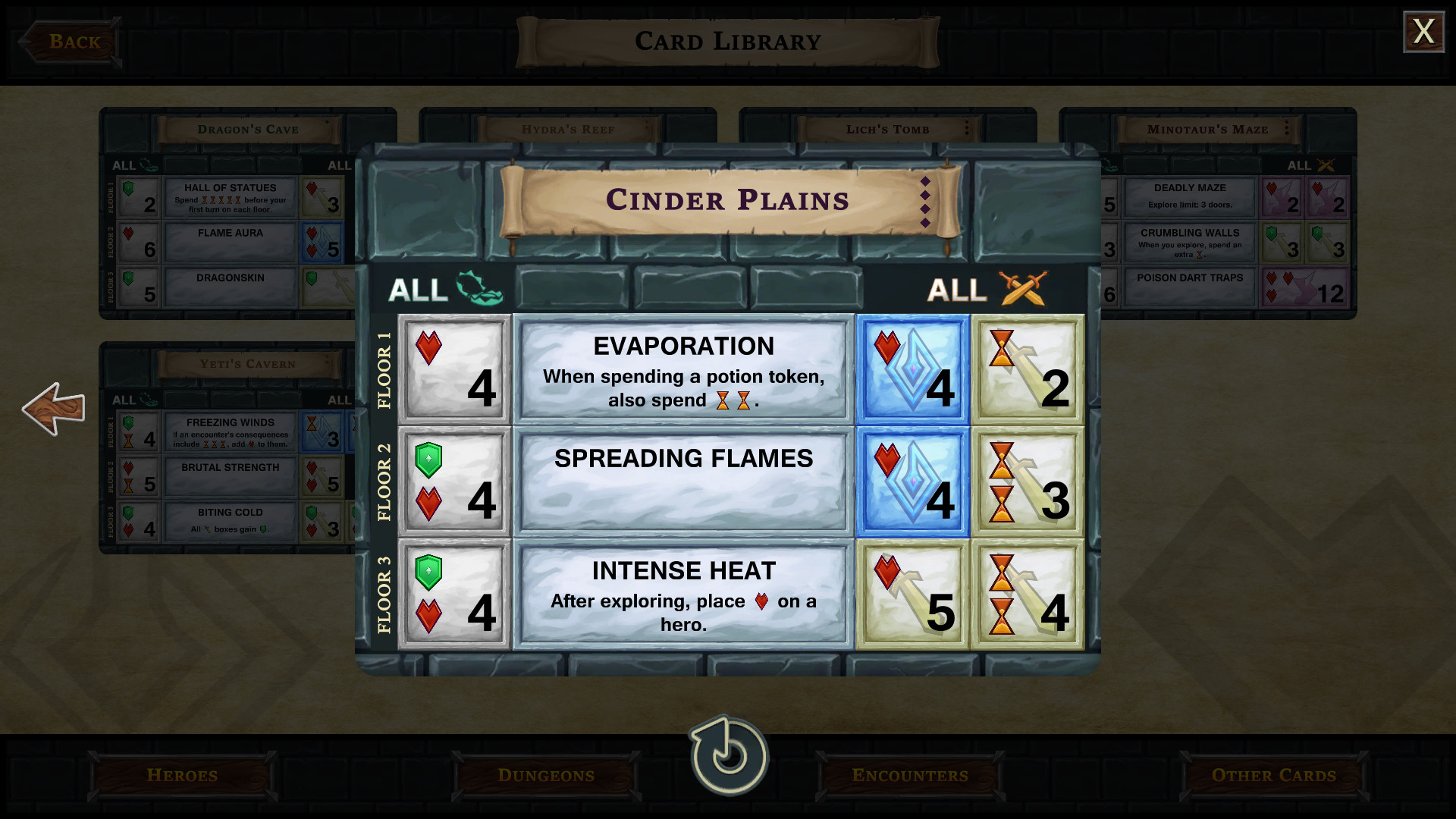 One Deck Dungeon Cinder Plains 2018 Promotional Art Mobygames