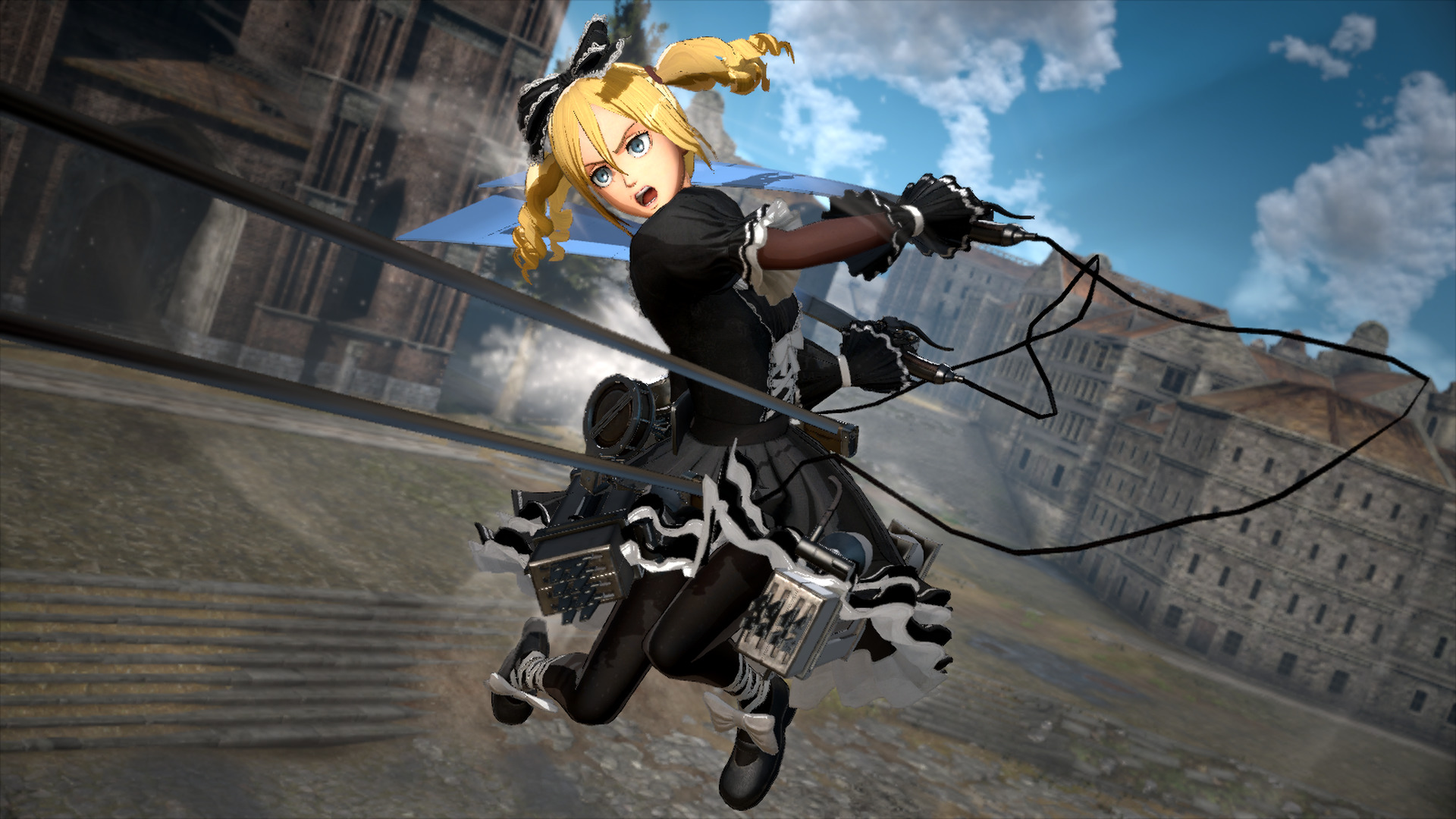 Attack on Titan 2: Christa Costume - Cutesy Goth Outfit ...