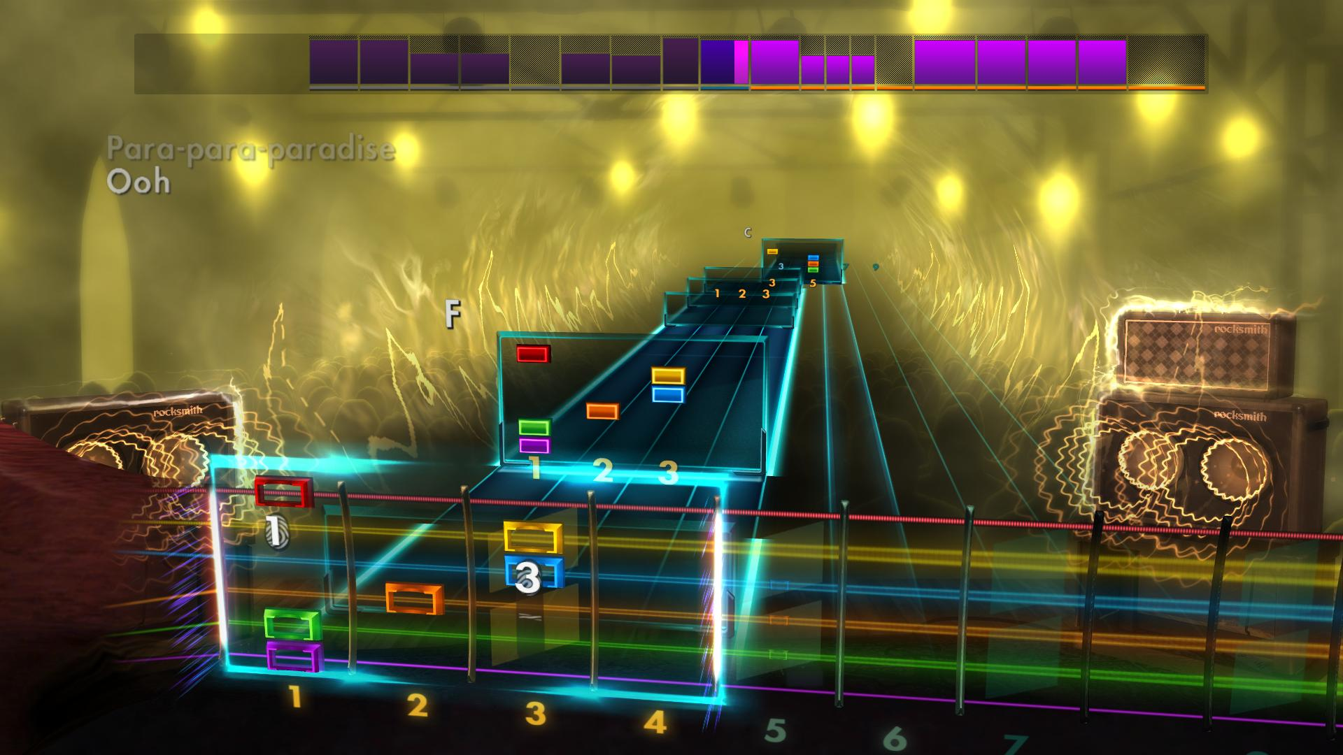 Rocksmith 2014 Edition Remastered Coldplay Paradise