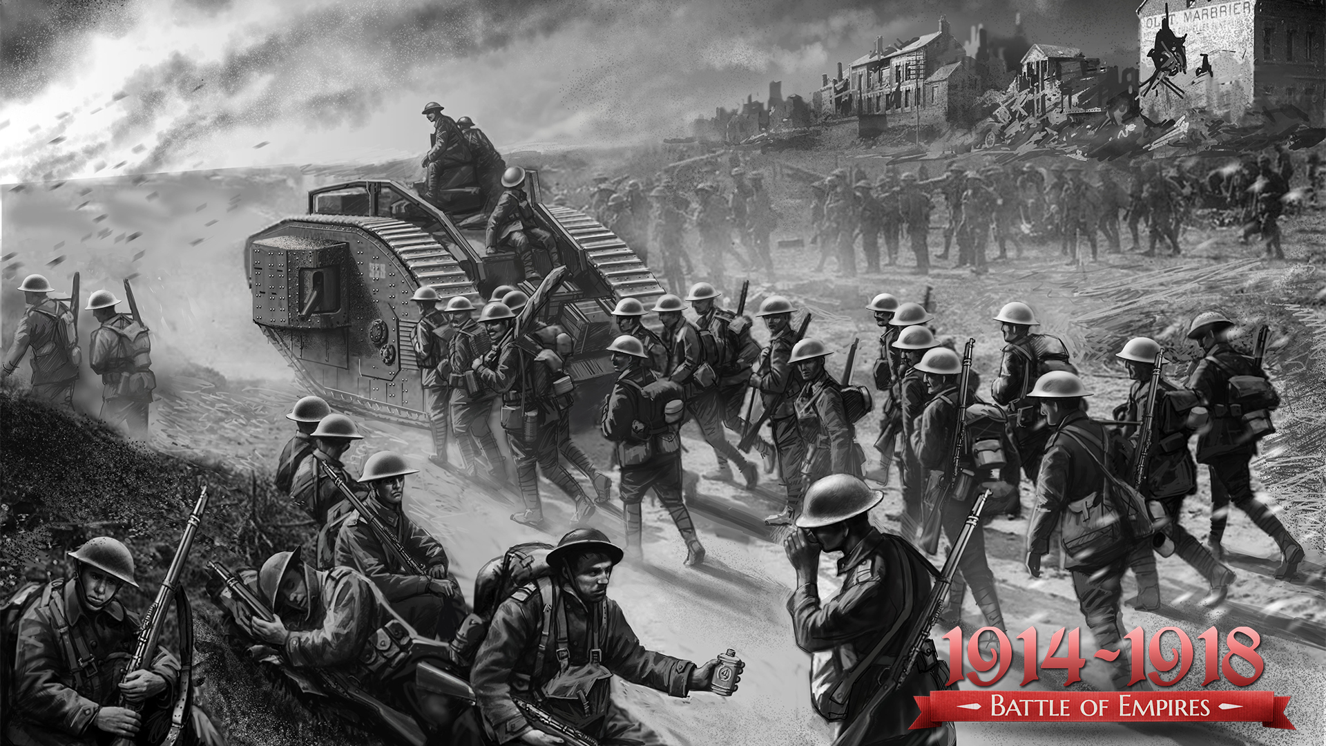 BATTLE OF EMPIRES : 1914 1918 - REAL WAR