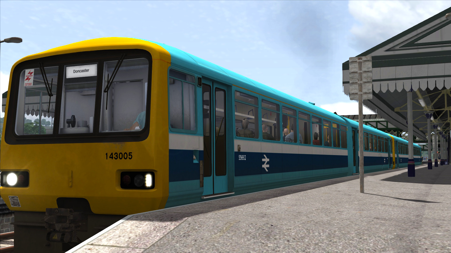 TS Marketplace: BR Provincial Sector Class 143 Add-on Livery 2014 pc game Img-3
