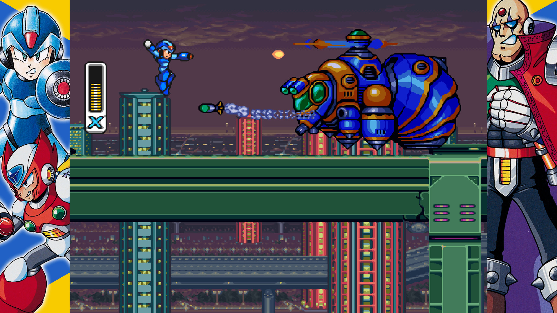 Image result for Megaman x legacy collection 1920x1080