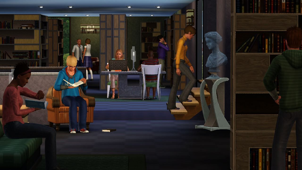 The Sims 3: Town Life Stuff (2011) promotional art - MobyGames