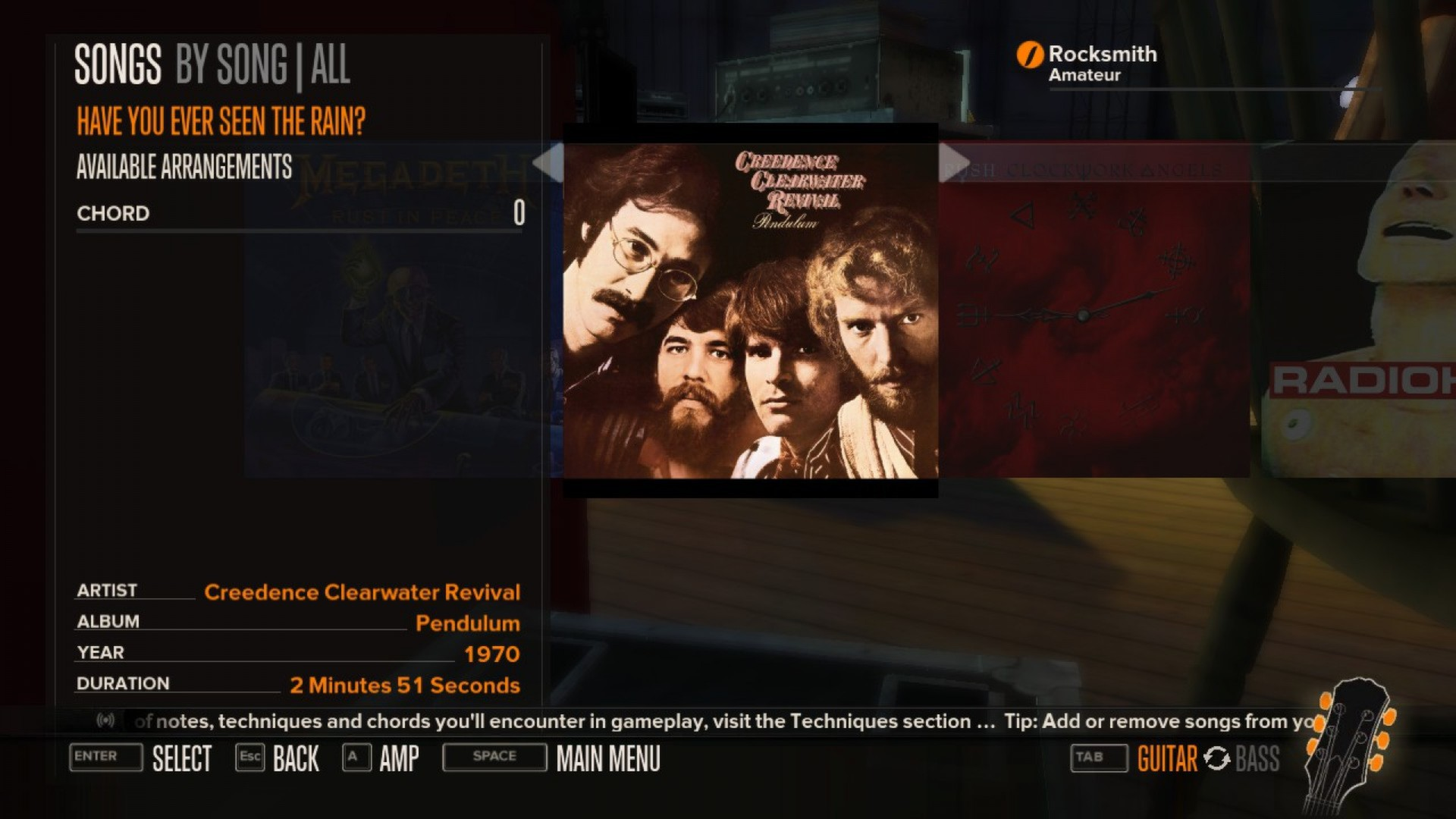 Rocksmith Creedence Clearwater Revival Have You Ever Seen The