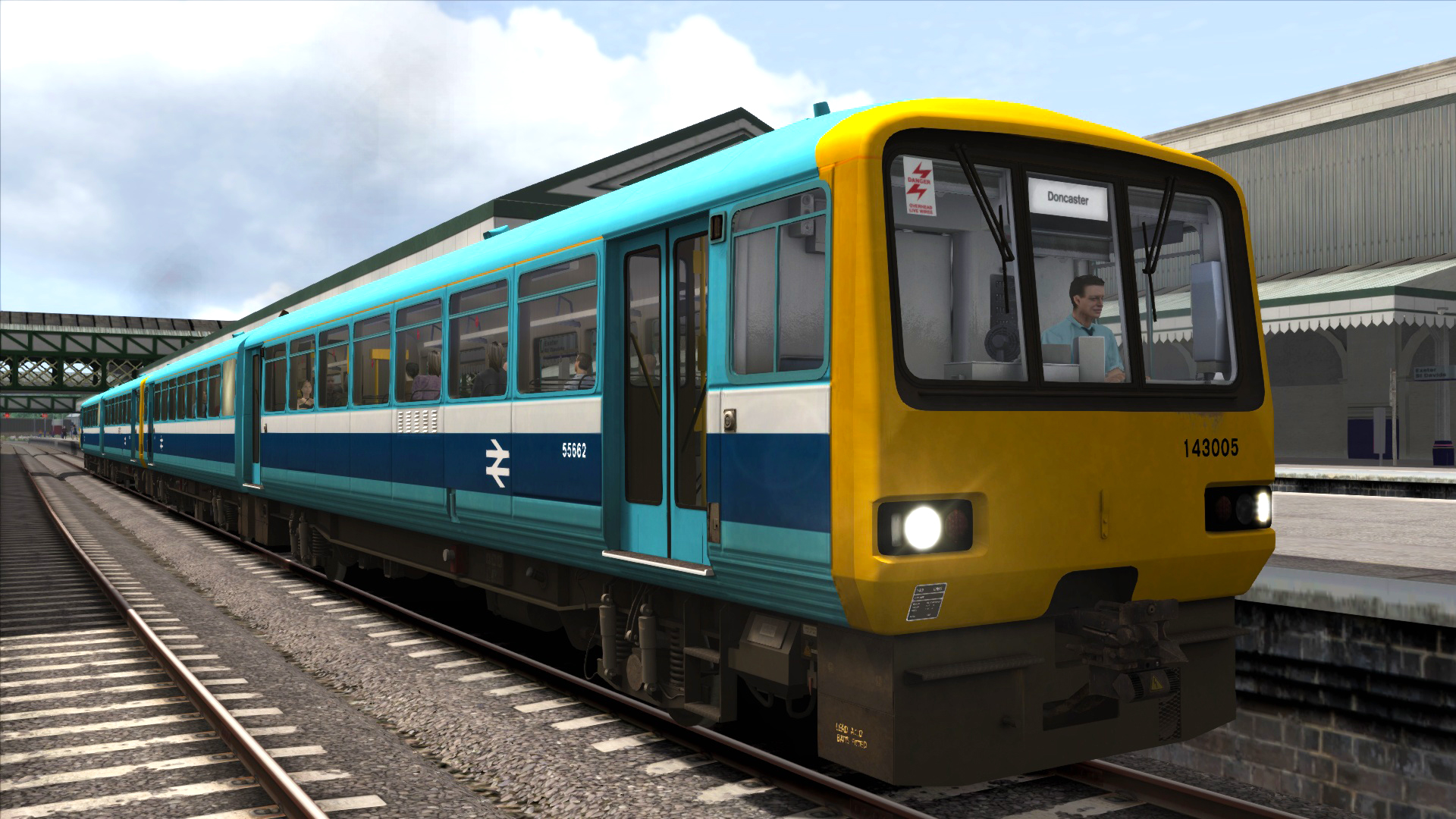 TS Marketplace: BR Provincial Sector Class 143 Add-on Livery 2014 pc game Img-2