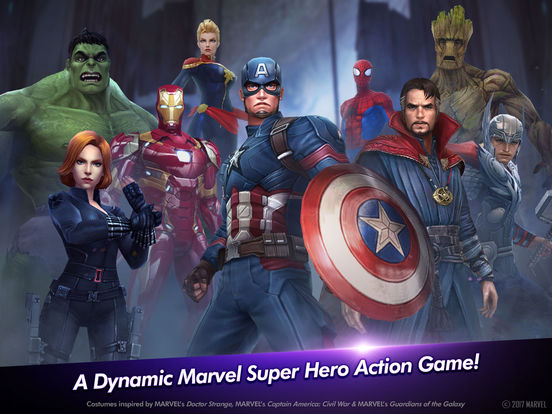 marvel future fight 2015 promotional art mobygames