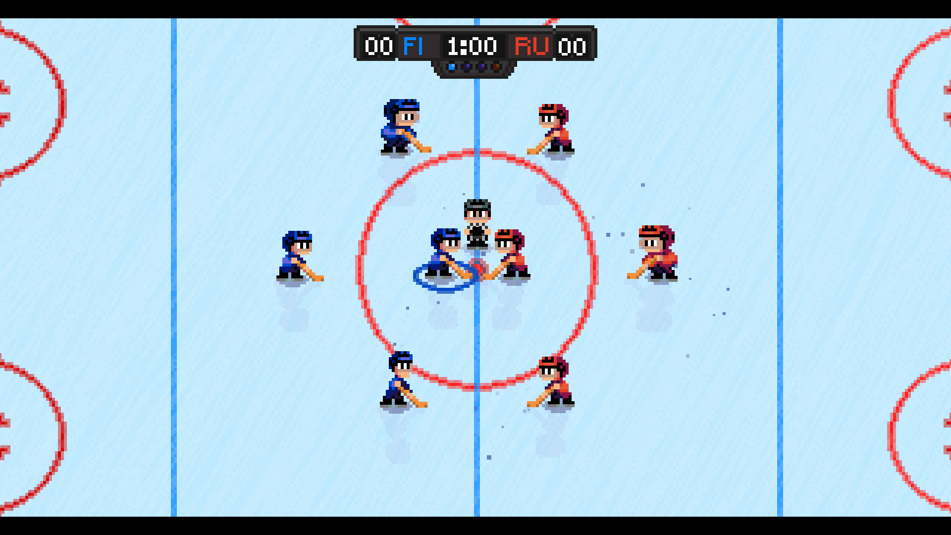 Super Blood Hockey 2019 Promotional Art Mobygames