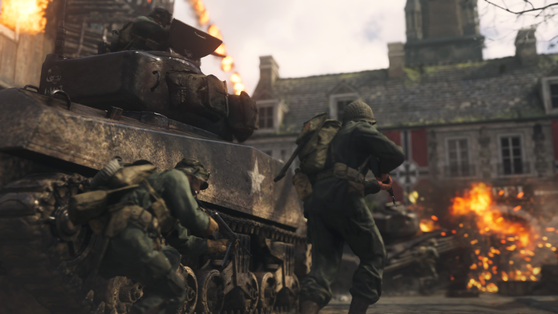 Call of Duty: WWII (Digital Deluxe Edition) (2017) promotional art - MobyGames