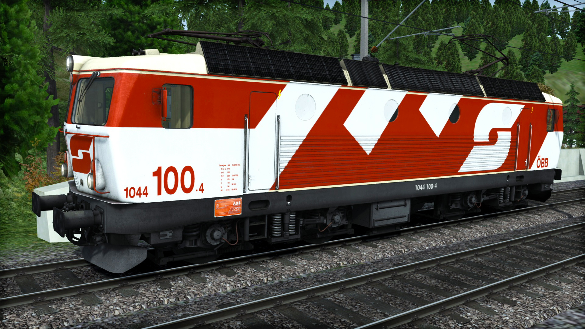 Train Simulator Marketplace: ÖBB 1044 '100' Livery Add-On Screenshot