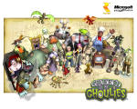 Grabbed by the Ghoulies Wallpaper