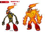 Mighty No. 9 Concept Art Posted on September 9, 2013. Concept art of Pyrogen.
