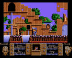 Flimbo's Quest Screenshot For Atari ST.