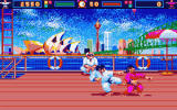 World Karate Championship Screenshot For Atari ST.