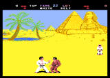 World Karate Championship Screenshot For Amstrad CPC.