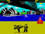 World Karate Championship Screenshot For ZX Spectrum.