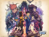 Professor Layton VS Phoenix Wright: Ace Attorney Wallpaper