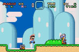 Super Mario World: Super Mario Advance 2 Screenshot Game Boy Advance perfectly reproduces the Super NES original!