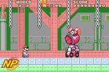 Super Mario Advance Screenshot Super Mario Advance is based on the original Super Mario Bros. 2, but there are lots of new features and surprises to discover. Souped-up graphics make the game look better than ever.