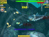 Hungry Shark: Evolution Screenshot an underwater vortex