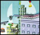 Super Smash Bros. Screenshot This little jump lets Pikachu pass through platforms.