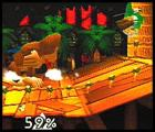 Super Smash Bros. Screenshot Use the Spinning Kong move to sweep an arena. If performed in the air, the move will let you temporarily float.