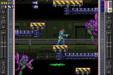 Metroid Fusion Screenshot Samus surrounded by space pirates