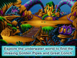 Freddi Fish 3: The Case of the Stolen Conch Shell Screenshot