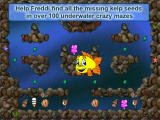 Freddi Fish and Luther's Maze Madness Screenshot