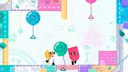 Snipperclips: Cut it out, together! Screenshot