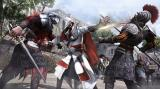 Assassin's Creed: Brotherhood Screenshot Ezio fighting two guards