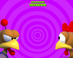 Crazy Chicken: Invasion Wallpaper 1280x1024