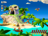 Crazy Chicken: Pirates Screenshot