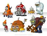 Plants vs. Zombies 2: It's About Time Concept Art