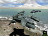 Halo: Combat Evolved Screenshot Two pelicans